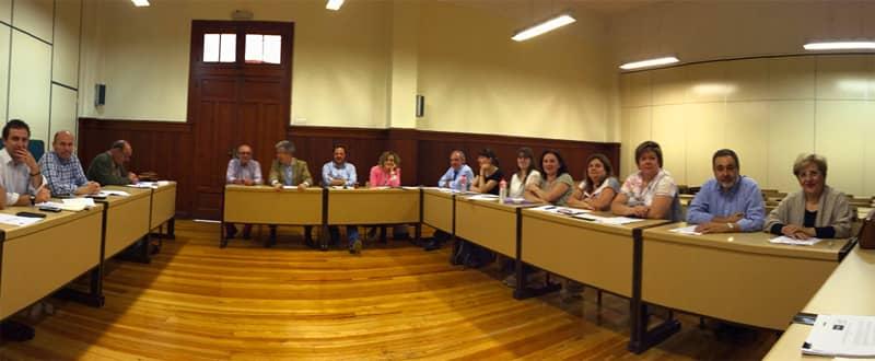 Reunión Miembros de la mesa de Gobierno UNED Vitoria