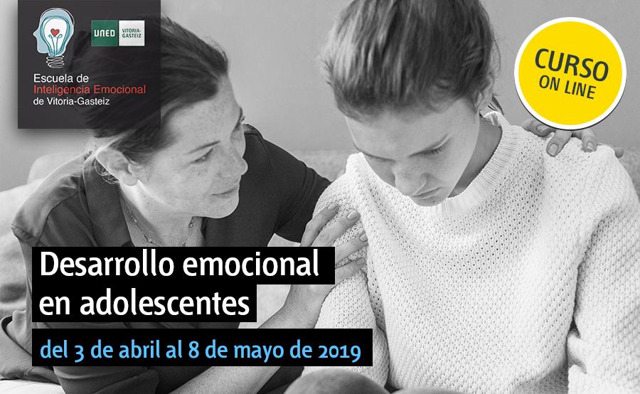 del 3 de abril al 8 de mayo de 2019ONLINE Desarrollo emocional en adolescentes (ONLINE)
