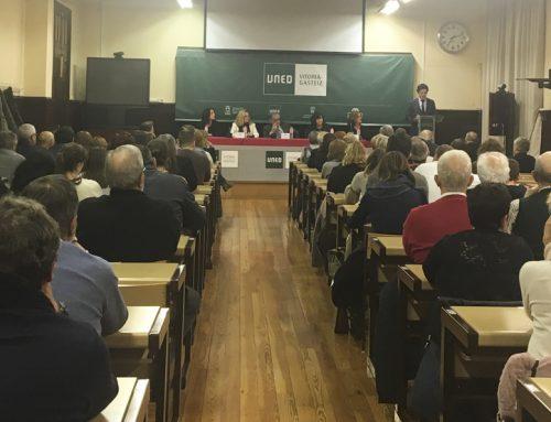 Acto de Apertura del Curso 2019-2020 en el Centro Asociado de la UNED en Vitoria-Gasteiz